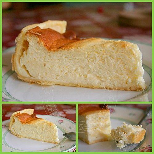 Tarte mousseuse aux petits suisses, yaourts et citron