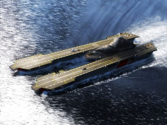 Leckie Class carrier length 400m (1312ft) beam 150m (492ft) draght ...