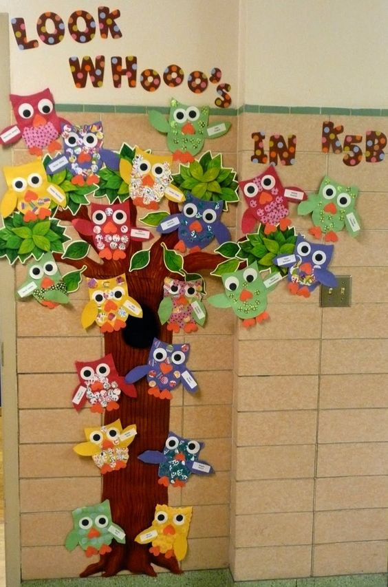 Decorado de b hos para el sal n de clases adornos aulas - Motivos infantiles para decorar ...