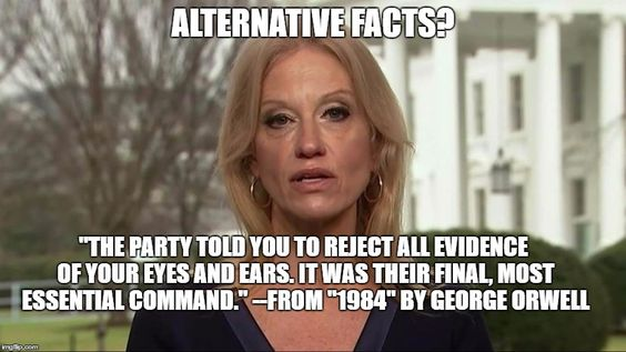 Kellyanne Conway alternative facts | ALTERNATIVE FACTS?
