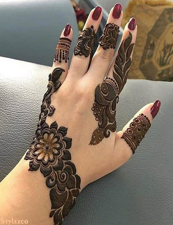 Pretty Unique Mehndi Art Design For Stylish Girls Mehndi Designs For Hands New Mehndi Designs Mehndi Designs For Fingers