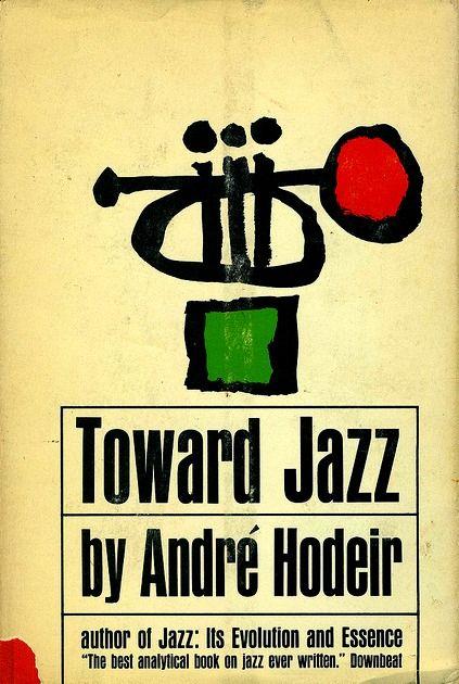 TOWARD JAZZ book cover...