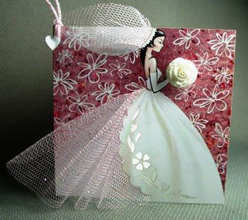 "10 Ten Handmade Bridal Wedding Invitations ""Bride"" - Invite your Bridesmaids. $100.00, via Etsy.:"