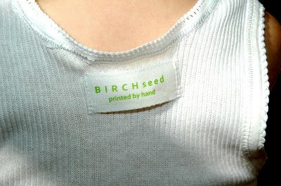 B I R C H s e e d --  printed by hand: tutorial - how to make home made cloth labels for ...