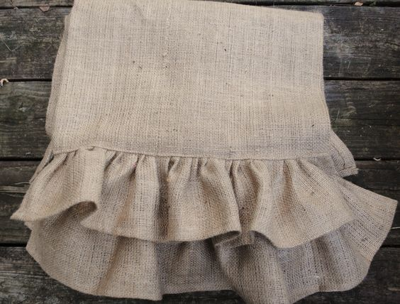 found these on etsy. i love burlap....