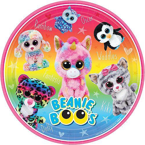 Beanie Boo S Birthday Banner Kit In 2020 Beanie Boo Birthdays Beanie Boo Party Birthday Coloring Pages