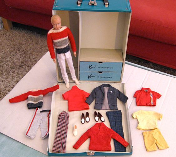 Vintage Ken Doll Clothes 2 pairs Shoes1 Pair of by TwillaGirl, $115.00