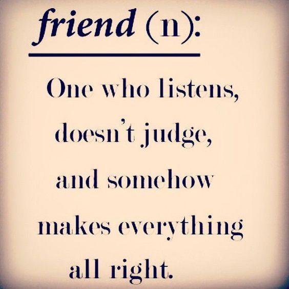 Friendship quotes instagram : Friend quotes quote friends best definition