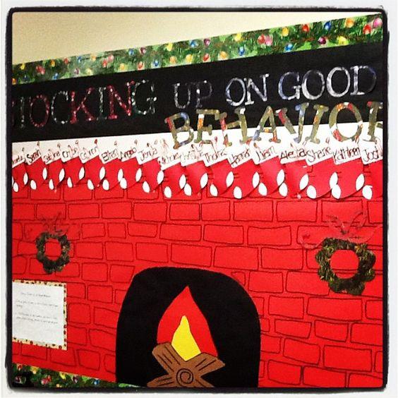 Cute christmas bulletin board december boards