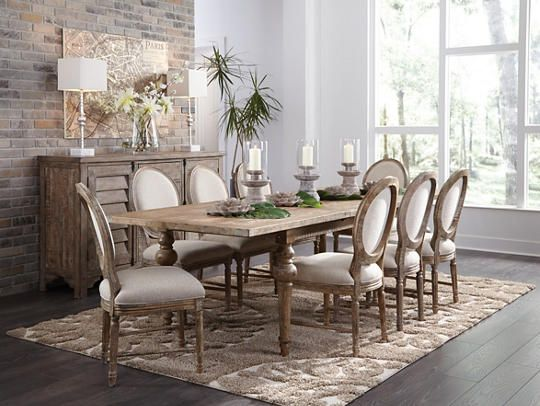 Interlude Dining Table Art Van Furniture Dining Room Decor