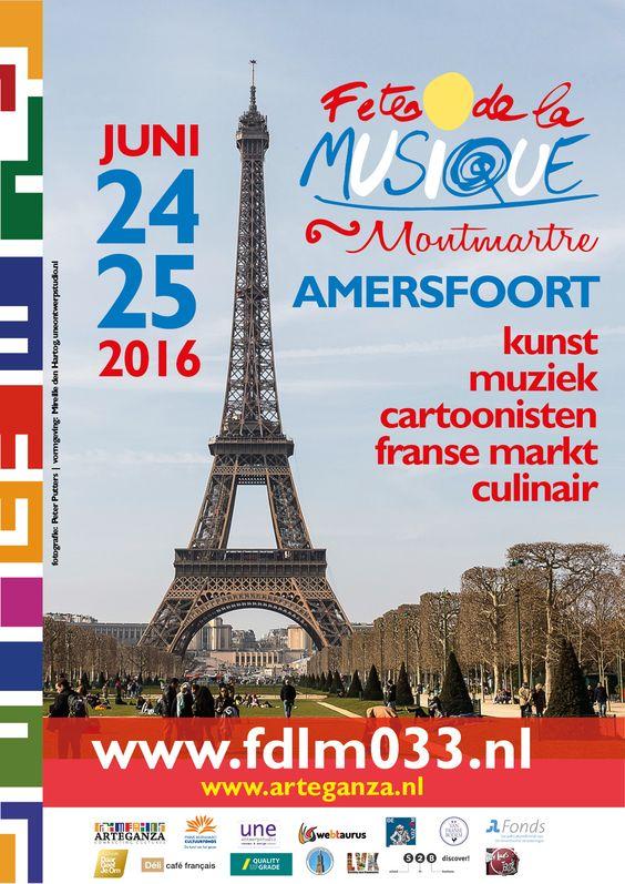 Fête de la Musique in Amersfoort Van vrijdagavond 24 juni tot en met zaterdagavond 25 juni kan iedereen komen genieten van een mooie Franse sfeer in de binnenstad van Amersfoort. Diner Français op…