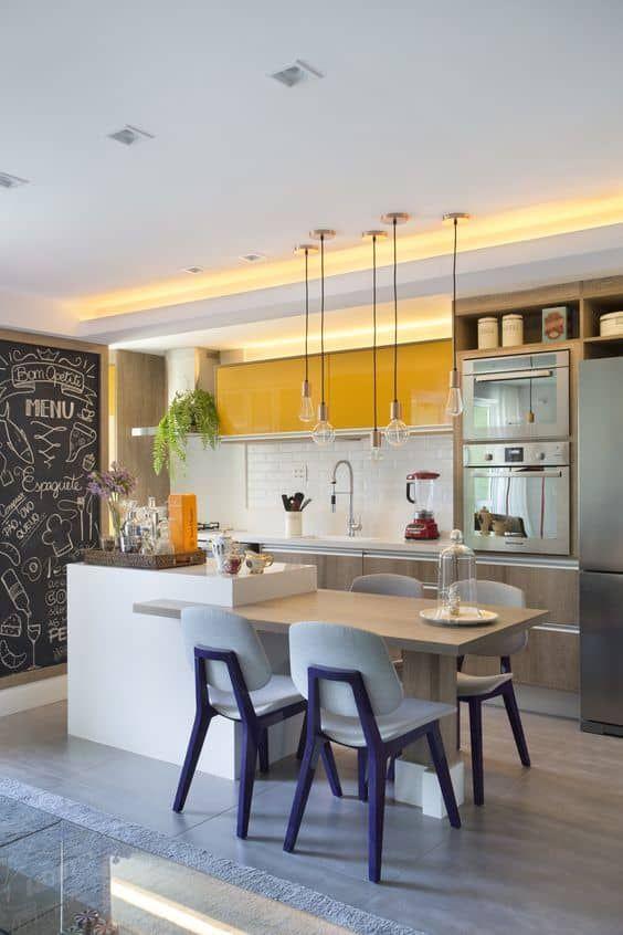 Cocinas Con Isla 24 Ideas Para Inspirarte Diseno De Interiores De Cocina Diseno Muebles De Cocina Cocinas De Casa