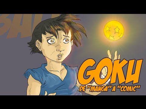 "Dibujando a goku ""estilo comic"""