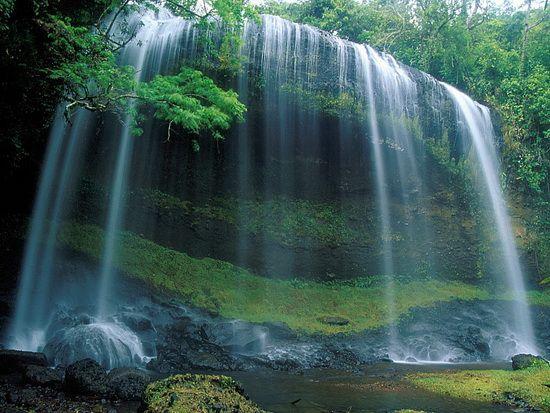 Waterfall, Palau, Micronesia