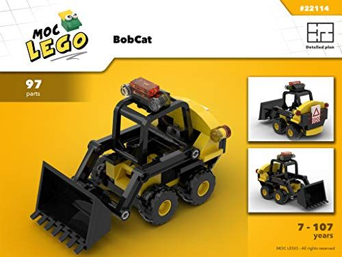 Amazon Com Bobcat Instruction Only Moc Lego French Edition Ebook Bryan Paquette Gateway Lego Truck Lego Construction Lego