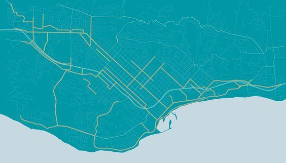 Santa Barbara Bicycle Master Plan | On the Boards | Meléndrez