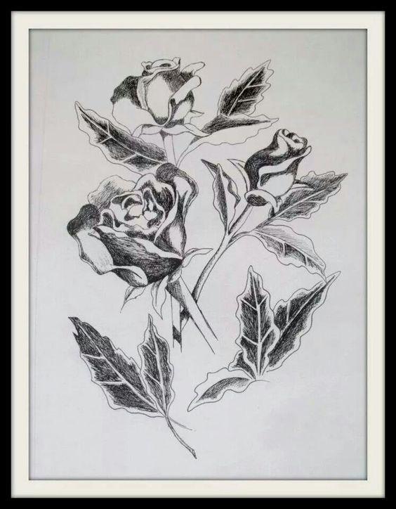 Rosas Nanquim