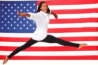 Gabby Douglas... an amazing young lady, and a military kid too! Pin this and read more :)