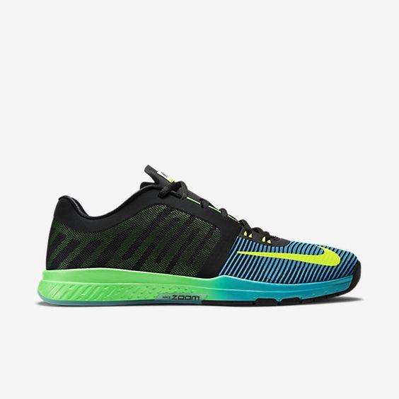 Nike Zoom Speed Trainer 3 AMP Men's Training Shoe, Black/Blue Lagoon/Volt