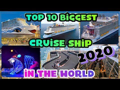 Top 10 Biggest Cruise Ship 2020 You Mush Watch Youtube Kapal Pesiar Pesiar Royal Caribbean