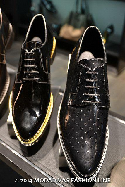 Jimmy Choo changes the gentleman style Men's collection men's  fall winter 2014/15