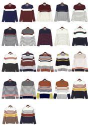 Today's Hot Pick :バラエティーストライプニットTシャツ【TOMONARI】 http://fashionstylep.com/P0000DYN/tomonarijp/out なんと9種類の違ったストライプパターンをご用意!! カラーも色々で自分の好みに合ったアイテムをお選び頂けます!! シーズンに関係なくいつでも使える便利なストライプニットシャツ。 柔らかい肌触りで着心地も抜群。 シンプルなラウンドネックデザインだからどんなアイテムともコーディネートできます。