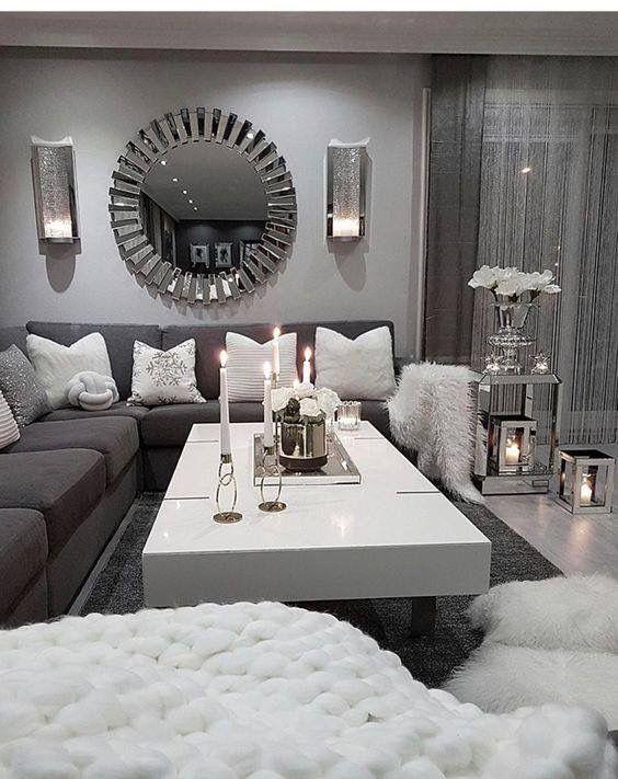Pin By Valeria Campos On Home Interior Living Room Decor Apartment Living Room Grey Living Room Decor Cozy