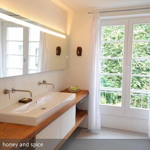 DIY Waschtisch aus Beton ciré | Waschtisch, Selbst bauen und Wände | {Waschtisch selber bauen 47}