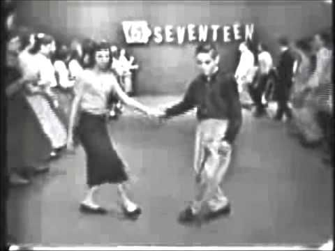 The Original Stroll - February 1958..Hello ..we knew line dancing before there was the Electric slide..lol