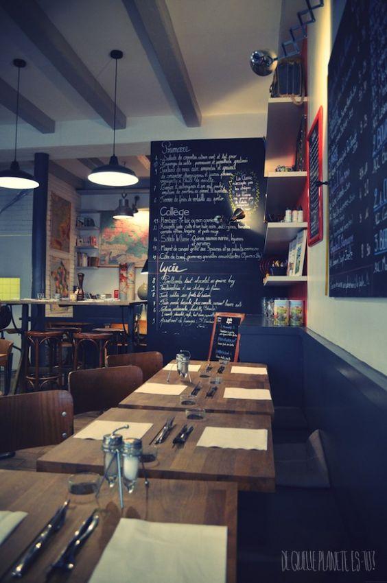 main courses paris and restaurant on pinterest. Black Bedroom Furniture Sets. Home Design Ideas