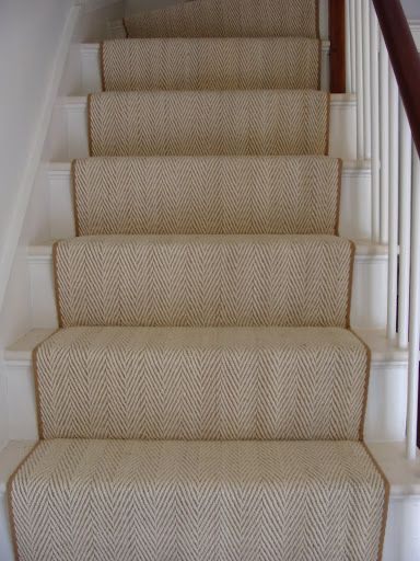 Waterfall Vs Hollywood Stair Installation Colony Rug