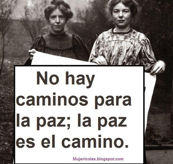 Mujerícolas: Mujeres Pacifistas