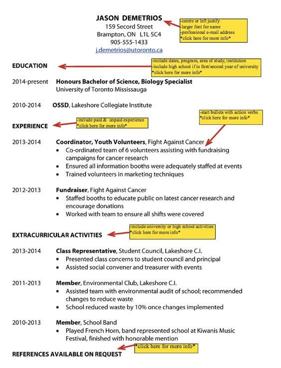 Samples Of Toronto University Resume - http\/\/resumesdesign - cancer researcher sample resume