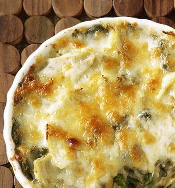Lindaraxa: Cheesy Spinach And Artichoke Dip