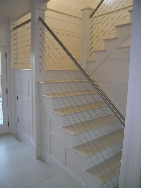 Best Custom Cable Railings Stair Railings Deck Railing Cable Railing Systems Dining Room 400 x 300