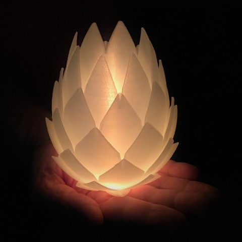 Pine Cone Tealight Candle Holder Tealight Candle Holders Printed Candles Tea Light Candles