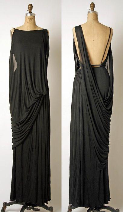 Evening ensemble Madame Grès (Alix Barton) (French, Paris 1903–1993 Var region) Date: late 1960s–mid-1980s