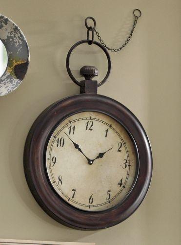 faux vintage clock...I like