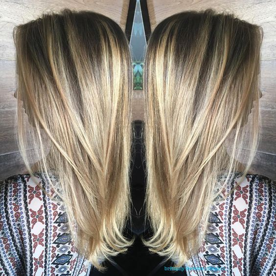 very light blonde balayage Instagram @brittany_severs