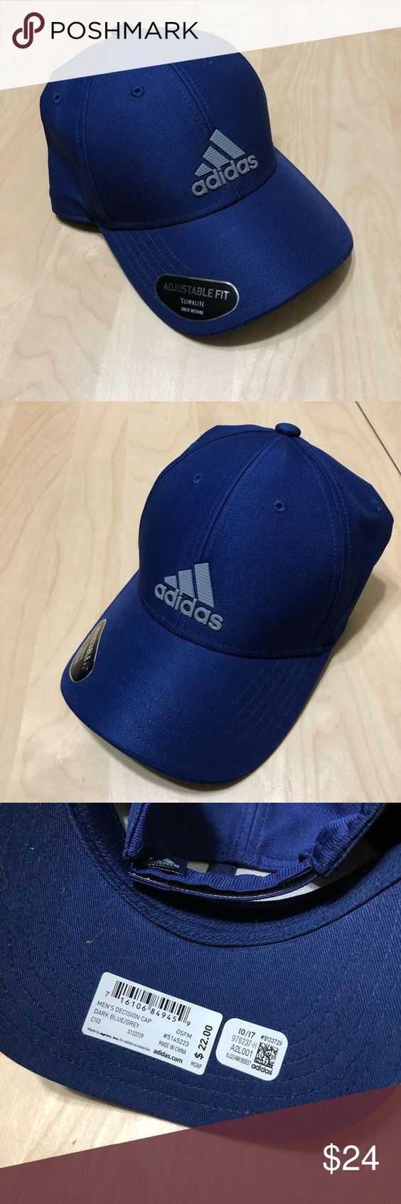 Hábil Metro Jardines  Adidas Decision Hat Adidas Decision Dark Blue / Grey Baseball Cap NEW Size:  OS NEW Let me know if you have any questions. ::) adidas … | Blue adidas,  Hats, Adidas