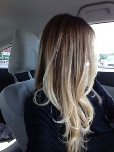 BALAYAGE /OMBRE Dark Ash Blonde to Light by PureHairExtensions