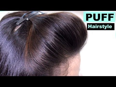 5 Easy Puff Hairstyles How To Make Perfect Puff Hairstyle Quick Hairstyles For Medium Thin Hair Esme Hairstyles Mag Hair Puff Easy Hairstyles Hair Styles