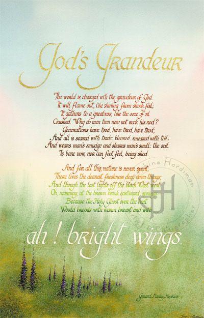 God's Grandeur by Gerard Manley Hopkins