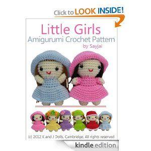 Little Girls Amigurumi Crochet Pattern (Easy Crochet Doll Patterns)...$2.99 Kindle