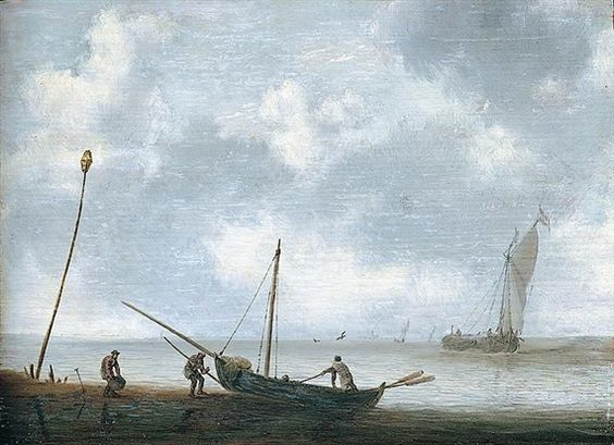 Jan Porcellis - Zeegezicht