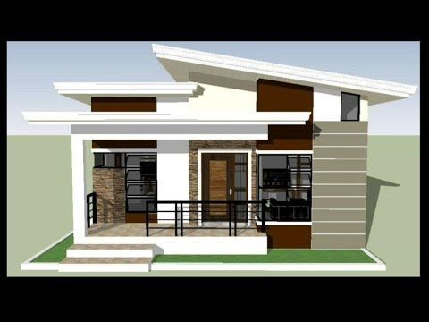 House Design 3bedroom Modern Bungalow With Floor Plan Youtube Philippines House Design Modern Bungalow House Plans Modern Bungalow House Design Small modern house design bungalow