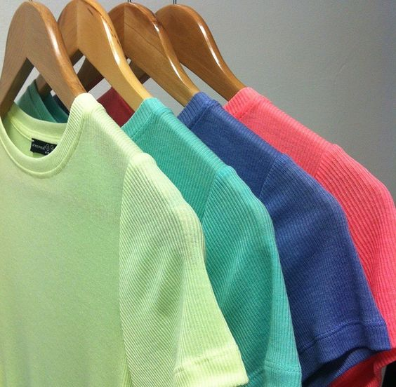 T shirts  Colors  Mens style