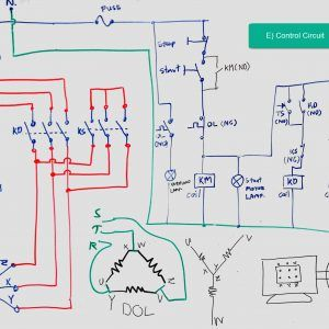 Contactor Wiring Diagram With Timer New The Beginner S Guide To Wiring A Star Delta Circuit Factomart Diagram Circuit Timer