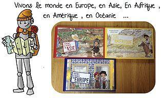 Vivons le monde en Asie, en Afrique , en Amérique , en Europe...