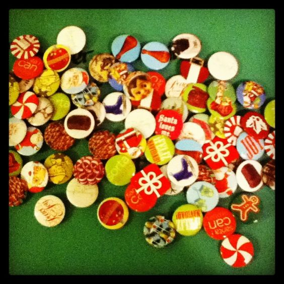 JCPenny Christmas Buttons